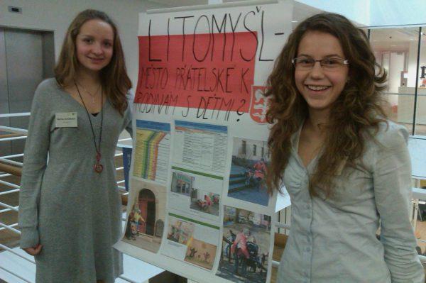 Žáci v Litomyšli rozhýbali dění ve městě