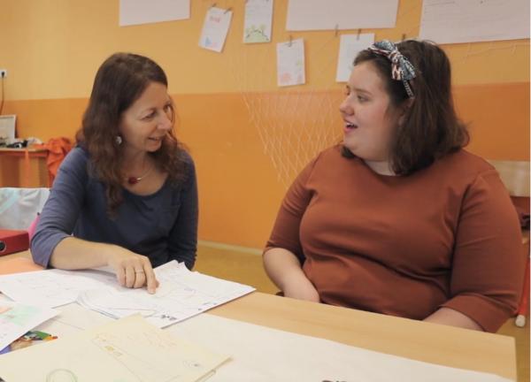 Díky asistentce pedagoga může Patricia chodit do školy s ostatními
